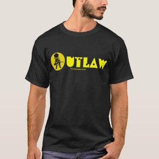 Funny outlaw cowboy t-shirt design
