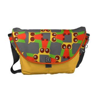 Funny Owls Messenger Bag