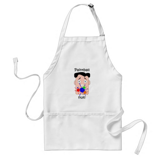 Funny paintball aprons