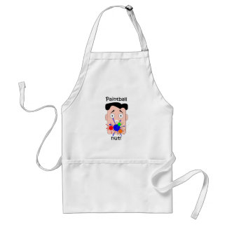 Funny paintball standard apron