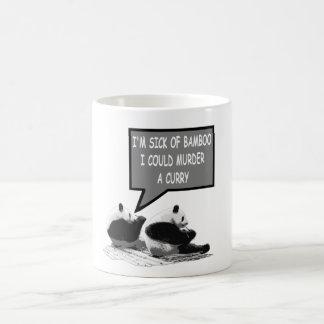Funny Panda Classic White Coffee Mug