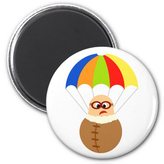 Funny Parachute Magnet
