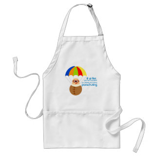 Funny Parachuting Quote Apron