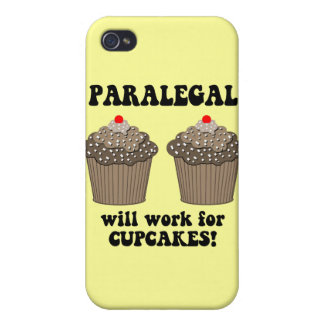 funny paralegal iPhone 4 covers
