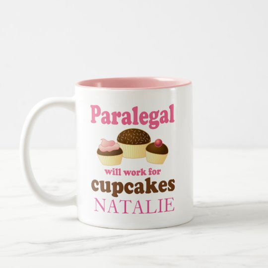Funny Paralegal Office Gift Personalised Mug