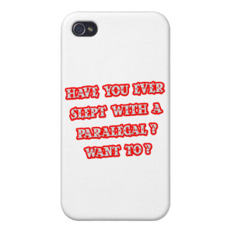 Funny Paralegal Pick-Up Line Case For iPhone 4