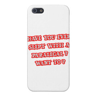 Funny Paralegal Pick-Up Line Cover For iPhone 5