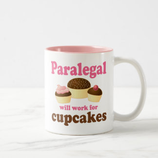 Funny Paralegal Two-Tone Coffee Mug