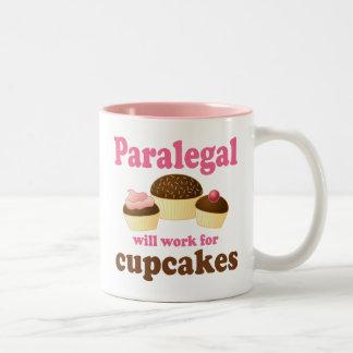 Funny Paralegal Two-Tone Coffee Mug