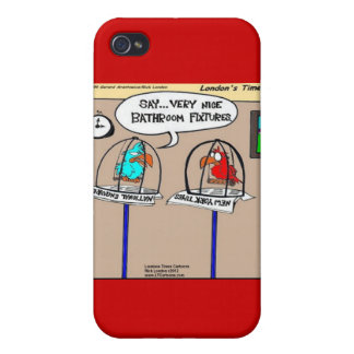 Funny Parrots Bathroom Fixtures Gifts &  iPhone 4 Covers