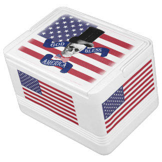 Funny patriotic American Igloo Cool Box