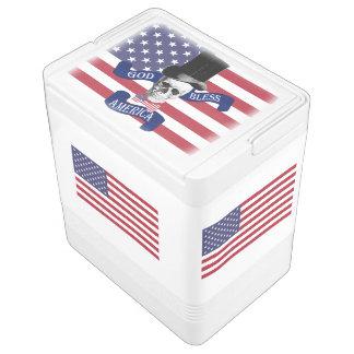 Funny patriotic American Igloo Cooler