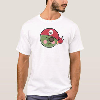 Funny Pea Pirate Toddler T shirt