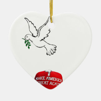 funny peace-promoting 2017 collectible christmas ornament