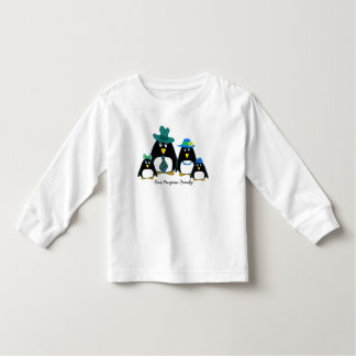 Funny Penguin Family of 4 Toddler Sweatshirts