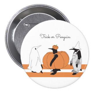 Funny Penguin Halloween 7.5 Cm Round Badge