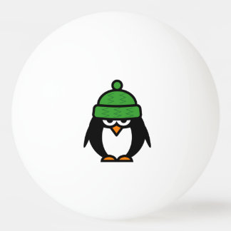 Funny penguin ping pong balls for table tennis ping pong ball