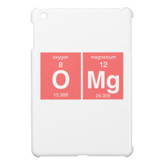 "Funny Periodic table ""OMG"" Cover For The iPad Mini"