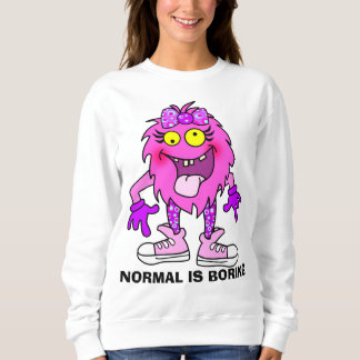 Funny personalized puppet monster sweatshirt