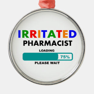 Funny Pharmacist Loading T-Shirts Christmas Ornament