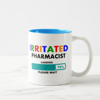 Funny Pharmacist Loading T-Shirts Coffee Mug