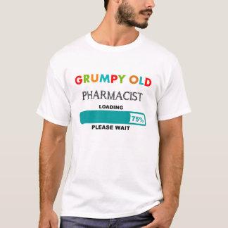 Funny Pharmacist T-Shirt Grumpy