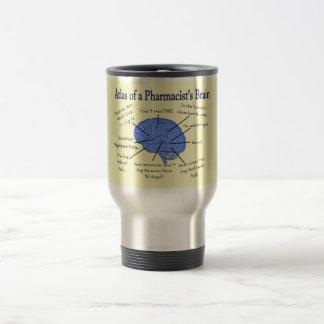 Funny Pharmacist's Brain Gifts Stainless Steel Travel Mug
