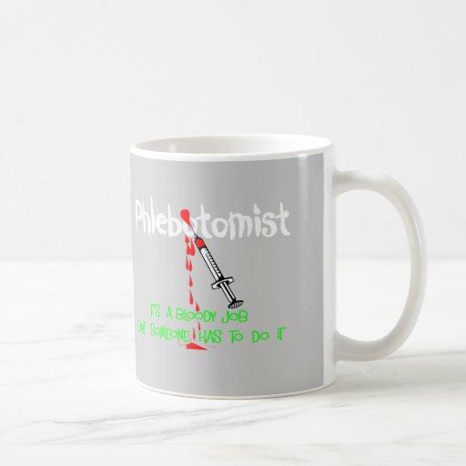 Funny Phlebotomist T-Shirts & Gifts Mug