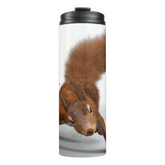 Funny Photo of Red Squirrel | Special Kind of Nuts Thermal Tumbler