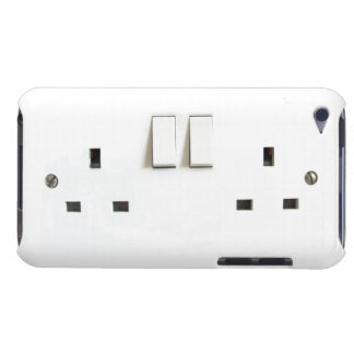 Funny Photo of UK Electrical Outlet On ipod Case