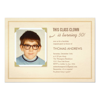Funny Photo Surprise Birthday Party Invitations