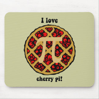 Funny pi mouse pad