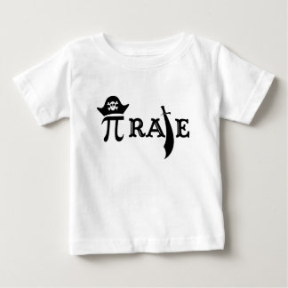 Funny Pi Rate Baby T-Shirt