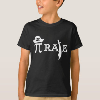 Funny Pi Rate T-Shirt