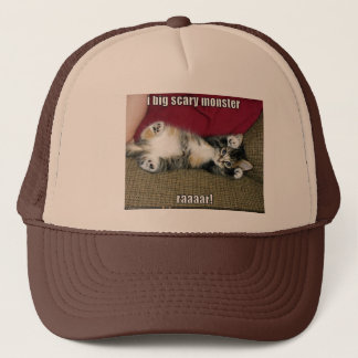 funny-pictures-cute-fierce-kitten trucker hat