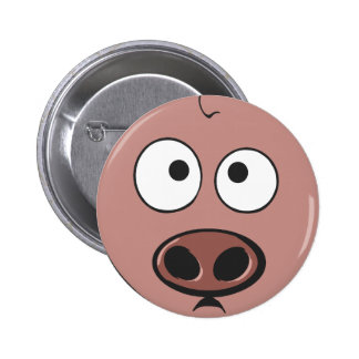 Funny Pig Buttons
