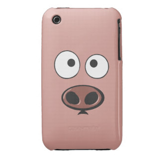 Funny Pig iPhone 3 Cases