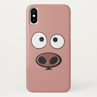 Funny Pig iPhone X Case