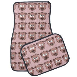 Funny Pig Pattern Floor Mat