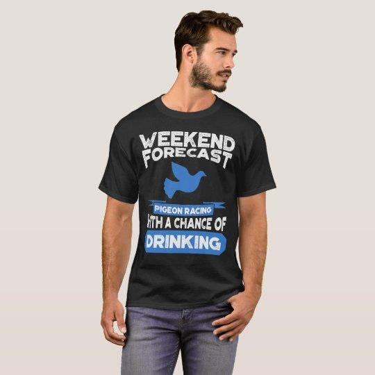 Funny Pigeon Racing Shirt