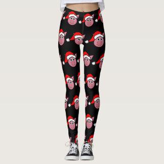 Funny Piggy Christmas Leggings