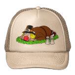 Funny Pilgrim Picture Cap