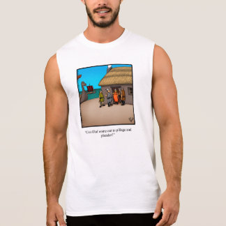 """Funny """"Pillage and Plunder"""" Humor Tank Top"""