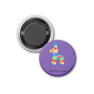 Funny Pinata Student Style Humour Innuendo 3 Cm Round Magnet