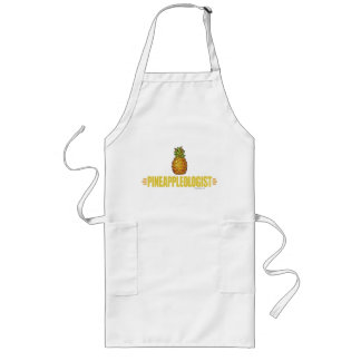 Funny Pineapple Lover Long Apron