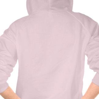 Funny Pink Introvert Zip Up Hoodie