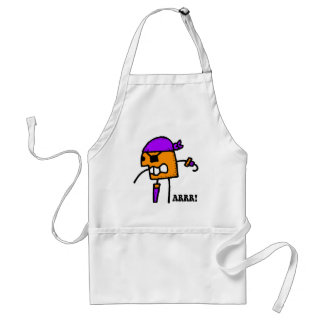 Funny pirate Halloween Aprons