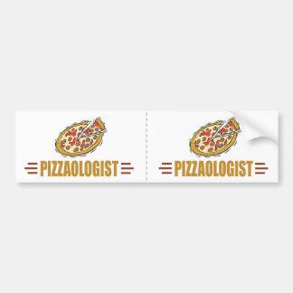 Funny Pizza Bumper Sticker