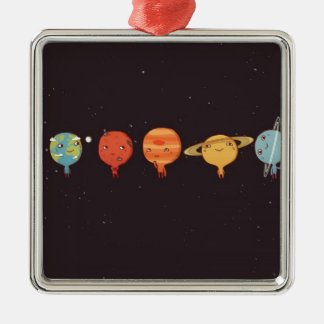 Funny planet décorations de noël