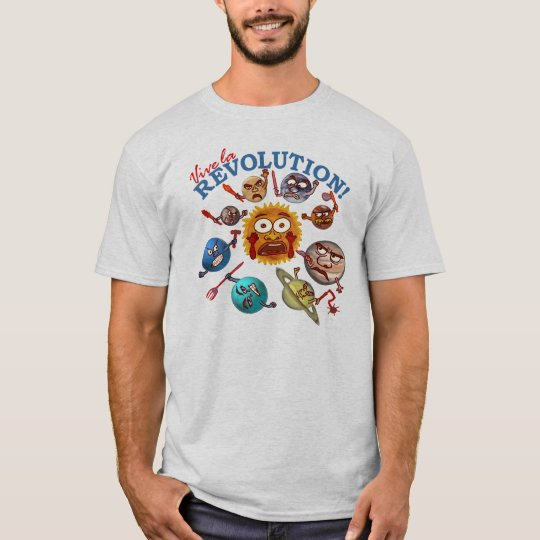 Funny Planet Revolution T-Shirt